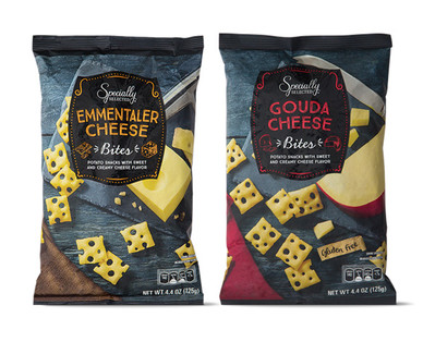 Specially Selected Emmentaler or Gouda Cheese Bites