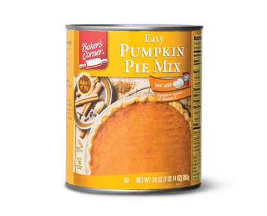 Baker's Corner Pumpkin Pie Mix