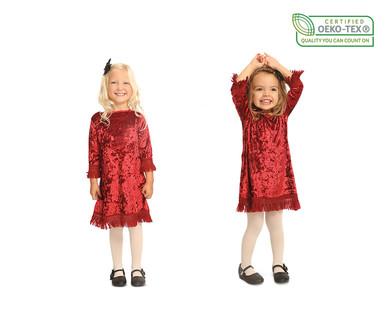 Lily & Dan Girls' Holiday Dress View 2