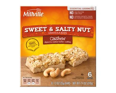 Millville Sweet & Salty Cashew Bars