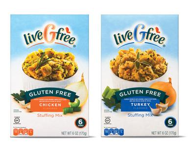 liveGfree Gluten Free Turkey or Chicken Stuffing