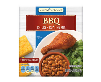 Chef's Cupboard BBQ Chicken Coating Mix