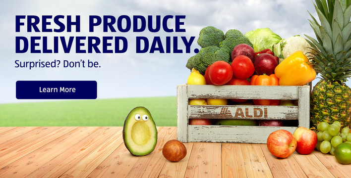 Fresh Produce Delivered Daily. Surprised? Don't be. Learn More.