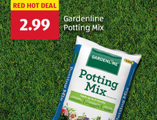 Red hot deal: Gardenline Potting Mix. $2.99. View Details.