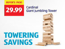 Buyer's Pick: Cardinal Giant Jumbling Tower. View Details.