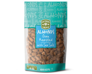 Southern Grove Oven Roasted Almonds with Sea Salt