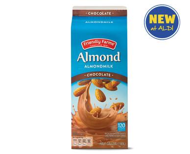 Friendly Farms Chocolate Almond Milk