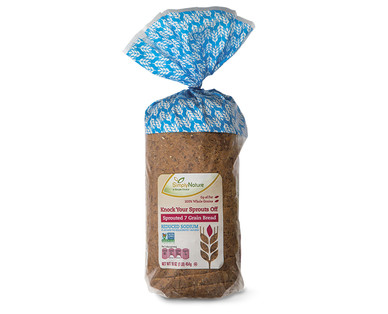 SimplyNature Knock Your Sprouts Off 7 Grain Low Sodium Bread