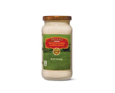 Priano Gourmet Bacon or Mushroom Alfredo Sauce View 1