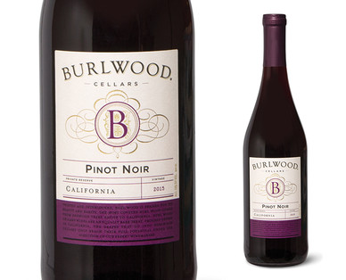 Burlwood Cellars Pinot Noir