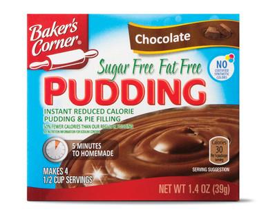 Baker's Corner Sugar Free Fat Free Chocolate Pudding