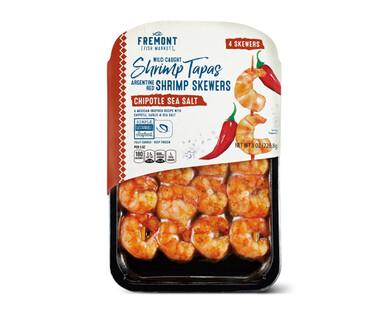 Fremont Fish Market Chipotle Sea Salt Wild Argentine Shrimp Skewers
