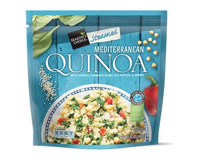 Season's Choice Steamed Mediterranean Quinoa