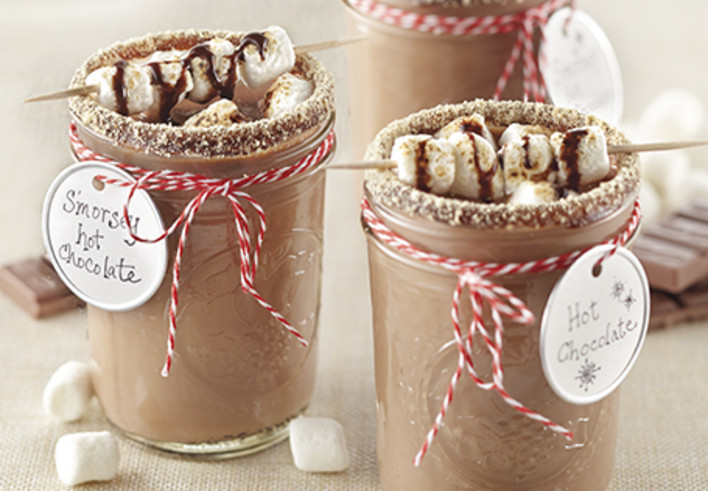S'morsey Hot Chocolate