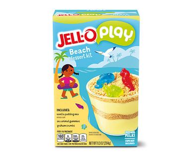 JELL-O Play Beach Dessert Cup Kit
