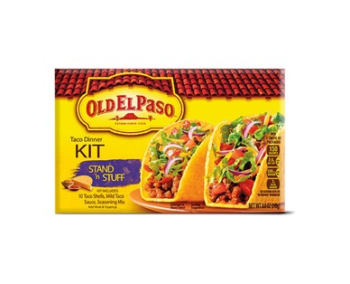 Old El Paso Hard & Soft or Stand N Stuff Taco Dinner Kits View 2