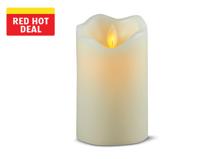Huntington Home Moving Flame LED Candle View 1