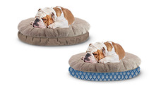 Heart to Tail Round or Rectangle Small Pet Bed