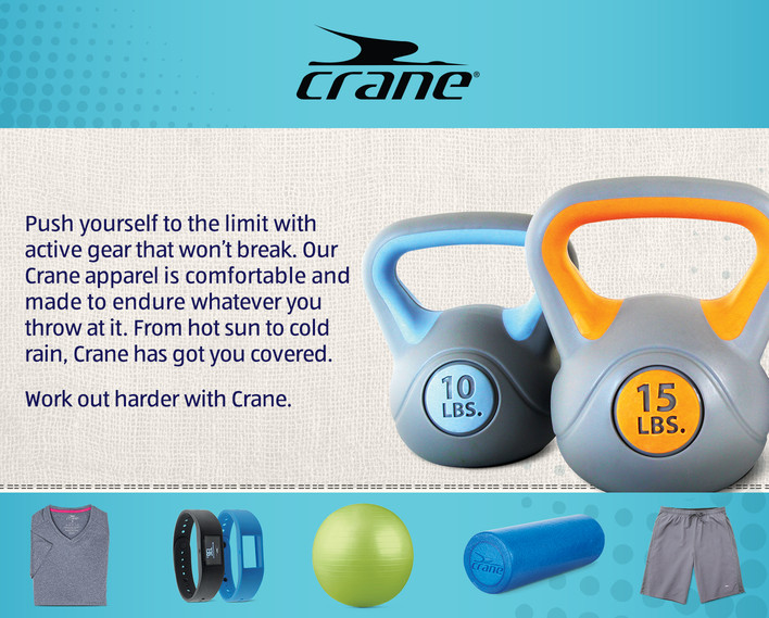 Crane Active Gear