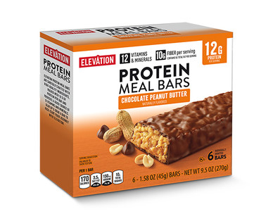 Elevation by Millville Chocolate Peanut Butter Protein Meal Bars