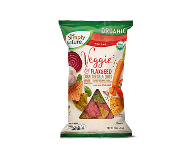 Simply Nature Organic Veggie & Flaxseed Tortilla Chips