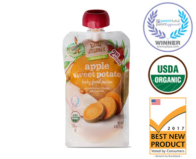 Little Journey Apple Sweet Potato Baby Food Puree