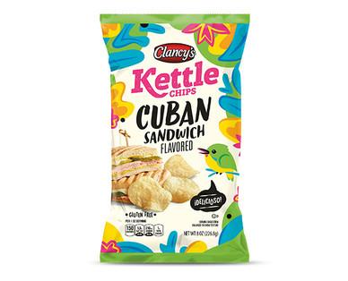 Clancy's Cuban Sandwich Kettle Chips