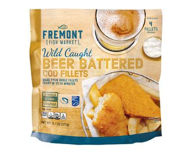 Fremont Fish Market Beer Battered Cod Fillets