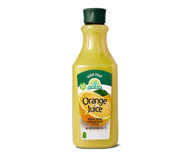 Nature's Nectar Not From Concentrate Orange Juice High Pulp