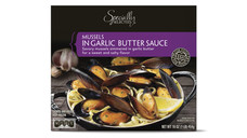 Specially Selected Garlic Butter Sauce Mussels