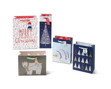 Merry Moments 5-Pack Premium Gift Bags View 2
