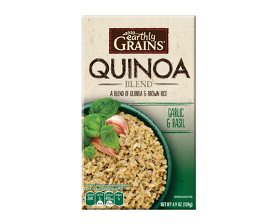 Earthly Grains Garlic & Basil Quinoa