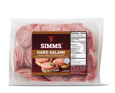 Simms Sliced Hard Salami