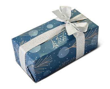 Moser Roth Belgian Chocolates Blue Gift Wrapped Box