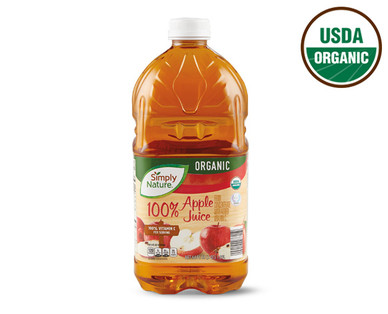Simply Nature Organic 100% Apple Juice