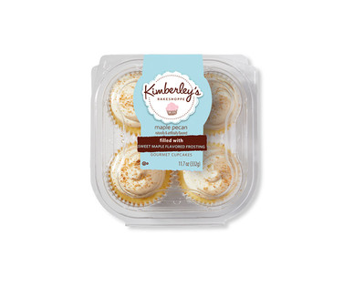 Kimberley's Caramel Macchiato or Maple Pecan Filled Cupcakes View 2