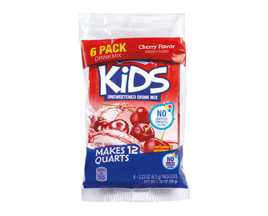 Mixade 6ct Kids Drink Cherry Mix Packets