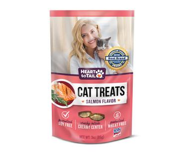 Heart To Tail Cat Treats - Salmon