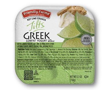 Friendly Farms Key Lime Crunch Greek Tilts