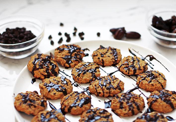 Cocoa Mocha Oatmeal Cookies