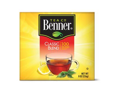 Benner 100ct Black Tea