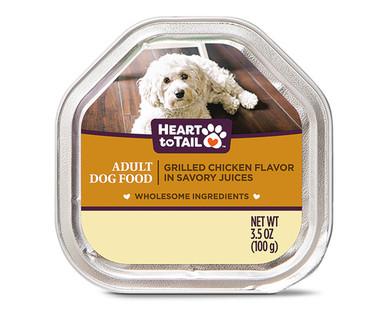 Heart to Tail Grilled Chicken Dog Entree