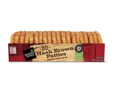 Season's Choice 20 ct. Hash Brown Patties