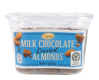 Choceur Milk Chocolate Covered Almonds