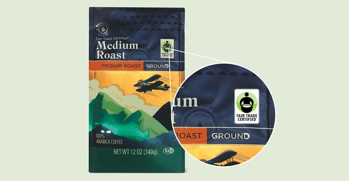 Image of medium roast Barissimo coffee bag