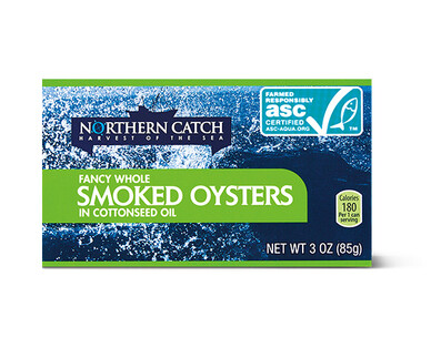 Northern Catch Oysters in Cottonseed Oil
