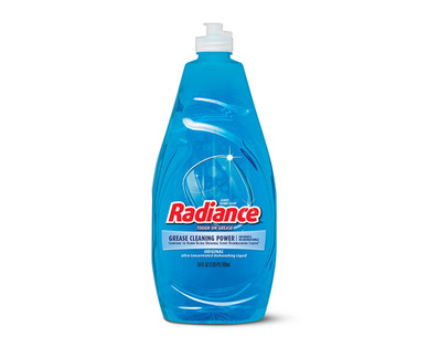 Radiance Ultra Liquid Dish Detergent Original Blue