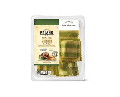 Priano Spinach & Mushroom or Goat Cheese & Tomato Ravioli View 1