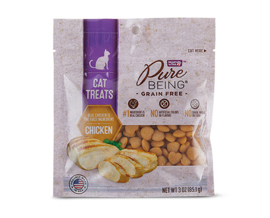 Pure Being Chicken Cat Treats View 1