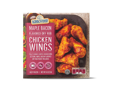 Kirkwood Maple Bacon Dry Rubbed Wings View 1